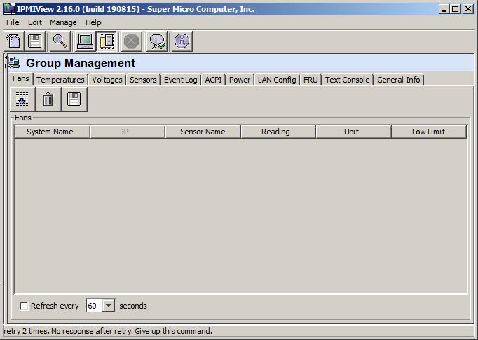 Серверами, объединенными в группы, удобно управлять с помощью опцииGroup Management