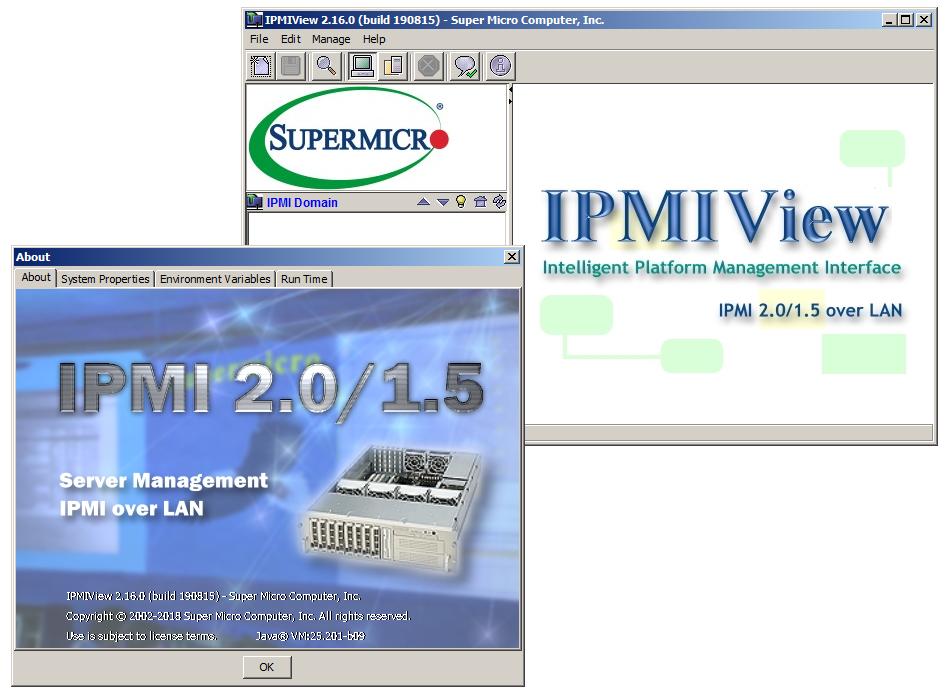 До начала промышленной эксплуатации IPMIView полезно ознакомиться с информацией, собранной установщиком о системе