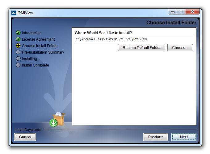 IPMIView это 32-х битный программный продукт, который одинаково хорошо поддерживается и Java x86, и Java x86-64
